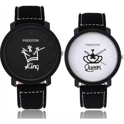 Stylové hodinky pro páry - 8 variant