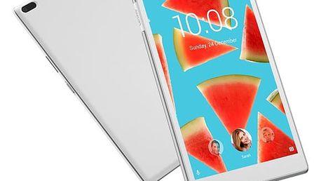 """Dotykový tablet Lenovo TAB4 8"""" LTE (ZA2D0004CZ) bílý SIM karta T-Mobile 200Kč Twist Online Internet + Software F-Secure SAFE, 3 zařízení / 6 měsíců v hodnotě 1 179 Kč"""