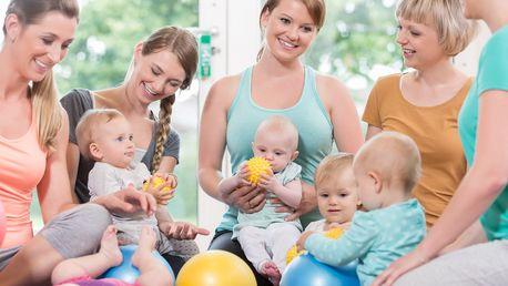 Aktivní i na mateřské: cvičení pro maminky s dětmi