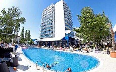 Bulharsko - Slunečné Pobřeží na 5 až 7 dní, polopenze nebo snídaně s dopravou letecky z Prahy 30 m od pláže