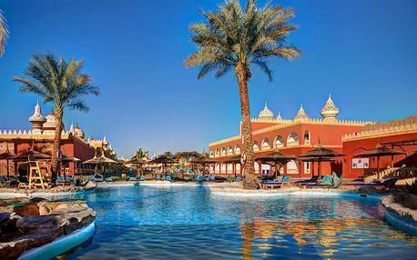 Egypt - Hurghada na 8 dní, all inclusive s dopravou letecky z Prahy 2 km od pláže