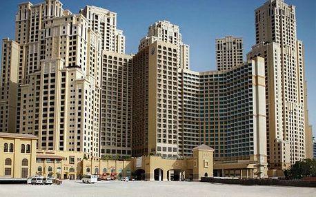 Spojené arabské emiráty - Dubai na 5 dní, polopenze, snídaně nebo bez stravy s dopravou letecky z Prahy přímo na pláži