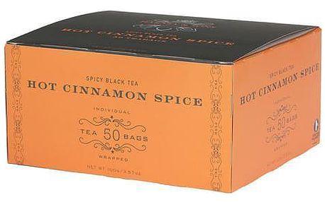Harney & Sons Hot Cinnamon Spice černý skořicový čaj 50 sáčků