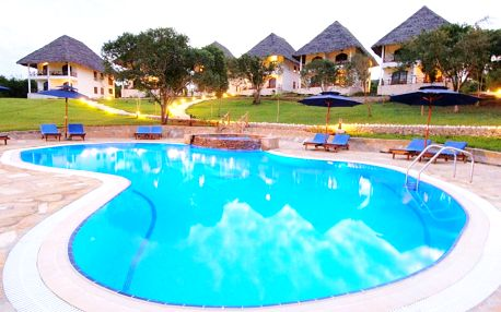 Zanzibar - Kiwengwa na 9 dní, plná penze s dopravou letecky z Prahy přímo na pláži