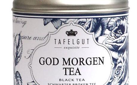 TAFELGUT Bio černý čaj Dobré ráno - 130 gr, modrá barva