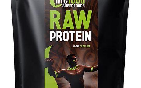 LIFEFOOD Bio protein kakaový RAW 1000 g