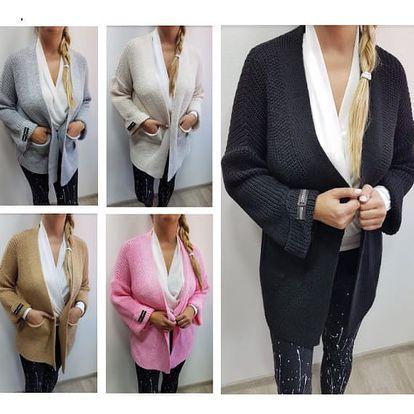 Dámský pletený svetr Camell