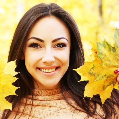 Podzimní výživná relaxační péče s shiatsu masáží