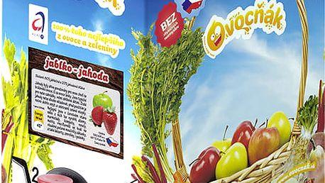OVOCŇÁK Mošt jablko-jahoda 3 L - ovocná šťáva