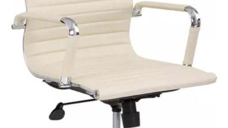 WolgaWave KENTUCKY 57009 Kancelářská židle - křeslo - krémová