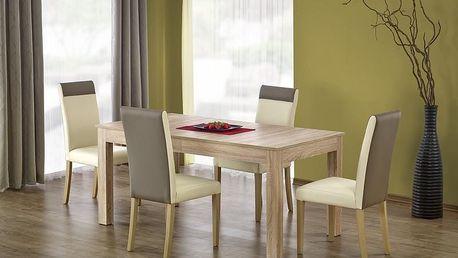 Dřevěný jídelní stůl Seweryn dub sonoma