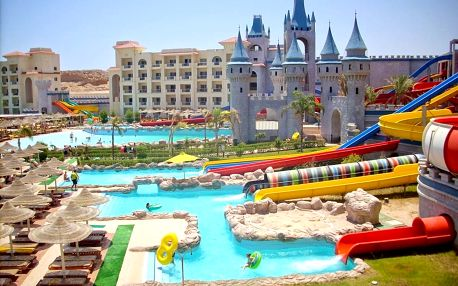 Egypt - Hurghada na 8 dní, all inclusive s dopravou letecky z Prahy 600 m od pláže