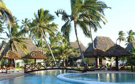 Zanzibar - Uroa na 9 dní, polopenze nebo snídaně s dopravou letecky z Prahy
