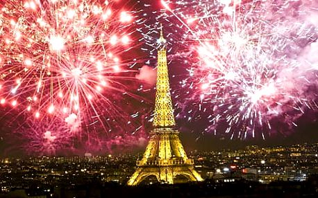 4denní výlet na advent či silvestr v Paříži a do lázní v Ambergu