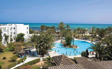 Tunisko - Djerba na 8 až 11 dní, all inclusive s dopravou letecky z Prahy přímo na pláži