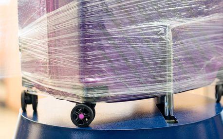 Předletové zabalení zavazadla do strečové folie