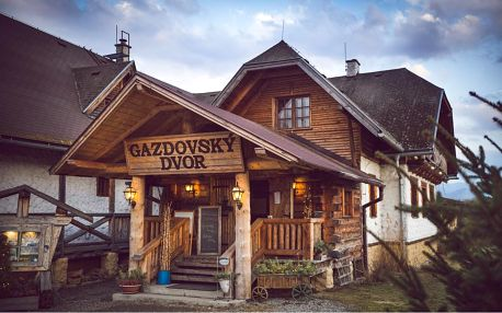 Komfort venkovského sídla v přátelské atmosféře v penzionu Gazdovsky Dvor