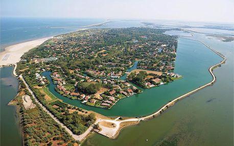 Itálie - Veneto (Venice riviera) na 8 dní, bez stravy s dopravou vlastní