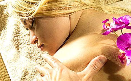 Relaxační antistresová masáž v Praze. Po celou dobu ošetření hraje relaxační hudba.