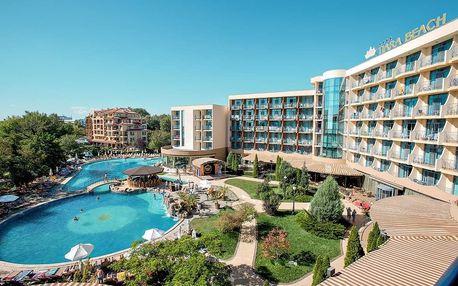 Bulharsko - Slunečné Pobřeží na 8 dní, all inclusive s dopravou vlastní 150 m od pláže