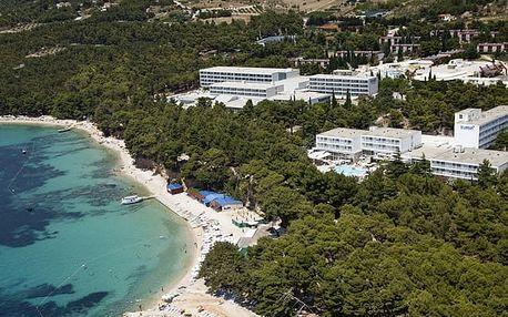 Chorvatsko - Brač na 8 dní, polopenze nebo snídaně s dopravou vlastní 50 m od pláže