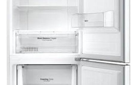 Chladnička s mrazničkou LG GBB59SWRZS bílá