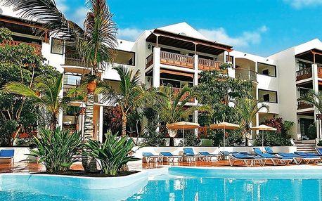 Kanárské ostrovy - Lanzarote na 8 dní, polopenze nebo snídaně s dopravou letecky z Prahy 250 m od pláže