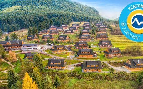 Wellness pobyt v Drevenice Terchová resort v NP Malá Fatra