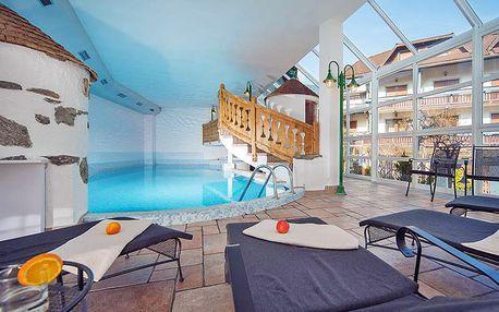 Italské Tyrolsko: lyžování ve vysokohorských skiareálech s ubytováním ve 4* hotelu s neomezeným wellness a polopenzí