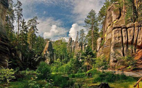 Rodinný penzion přímo u Adršpašských skal