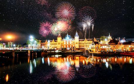 Silvestr v Amsterdamu na 4 dny s ubytováním se snídaní pro 1 osobu