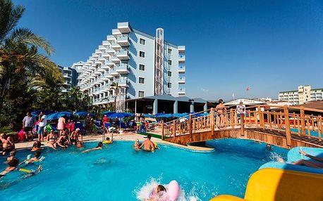 Turecko - Turecká Riviéra na 8 až 15 dní, all inclusive s dopravou letecky z Prahy 250 m od pláže