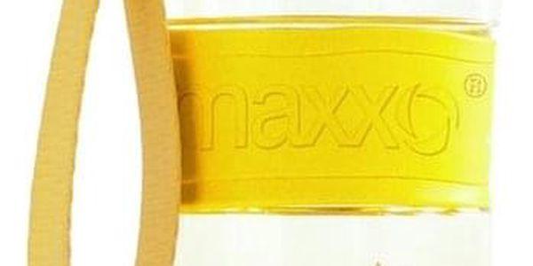 Maxxo Výhodná sada UNI vodní filtry 12 ks + žlutá sportovní láhev2