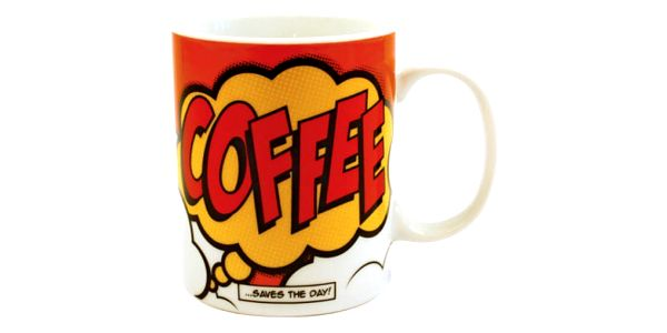 Komiksový hrnek COFFEE