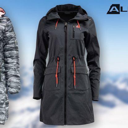 Dámské kabáty Alpine Pro ve dvou stylech: XS–XXL