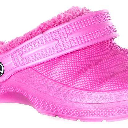 Fashion World Dámské zateplené pantofle zímní