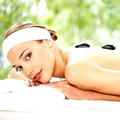 Relaxační masáž zad a šíje dle vlastního výběru - 50min. Klasická, medová, čokoládová, lávové kameny