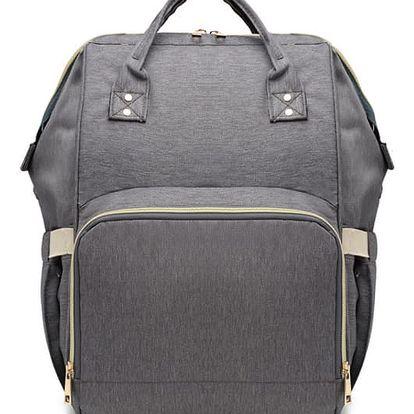 Mateřský šedý batoh Jean 6814