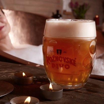 Rožnovské pivní lázně - pivní a santalová péče