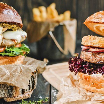 Hamburger u Divoké Šárky: výběr z 18 druhů