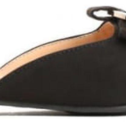 Dámské černé pantofle Zoya 013