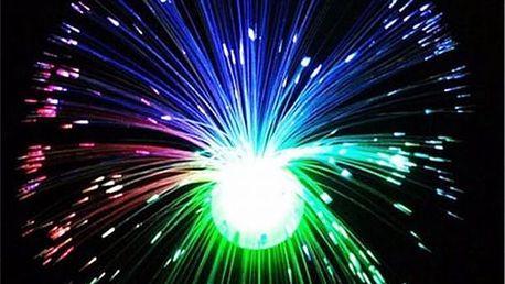 Lampa s optickými vlákny