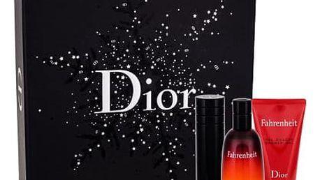 Christian Dior Fahrenheit EDT dárková sada M - EDT 50 ml + EDT naplnitelná 10 ml + sprchový gel 50 ml