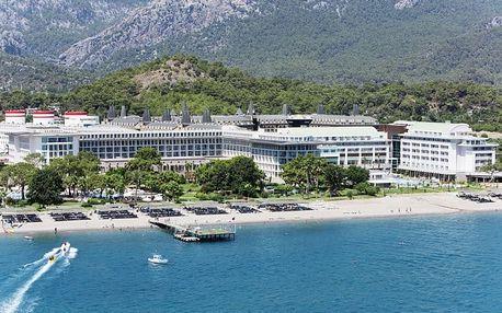 Turecko - Turecká Riviéra na 8 až 12 dní, ultra all inclusive s dopravou letecky z Prahy přímo na pláži