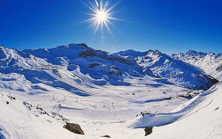 Zimní Tyrolské Alpy v 3* rodinném hotelu se vstupem do wellness i fitness centra a s polopenzí pro jednoho