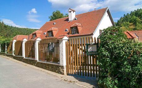 Pobyt v mlýně v malebném údolí v Brně