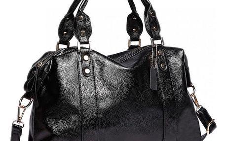 Dámská černá kabelka Lina 1828