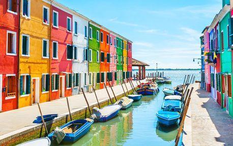 Benátky z Moravy s ostrovy Murano a Burano