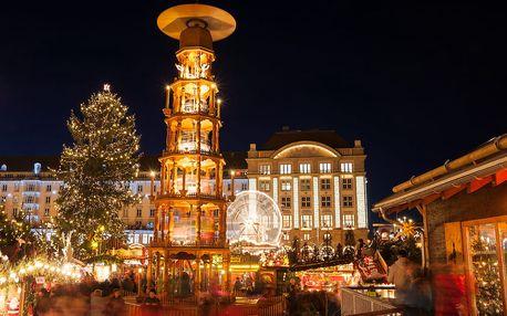 Drážďany: trhy a návštěva zámku Moritzburg (z pohádky Popelka)