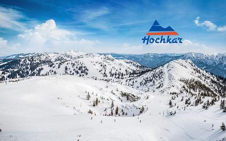 Jednodenní lyžařský zájezd do Rakouska | Hochkar | Sleva na skipas | Ostravská linka